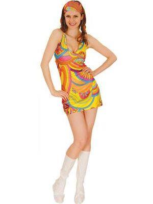 Groovy Go Go Girl Costume  EF-2015