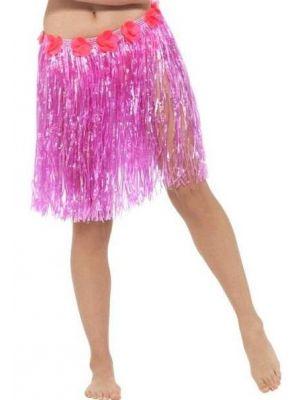 Hawaiian Hula Skirt Pink 45550