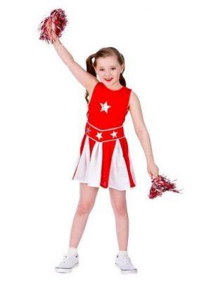 High School Cheerleader Red Costume  EG-3584