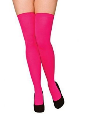 Hot Pink Thigh Highs TS-7097
