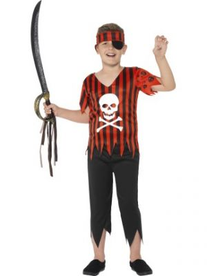 Jolly Roger Pirate Kid Costume  44401
