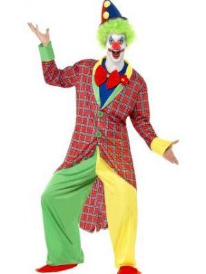 La Circus Deluxe Clown Costume  39340