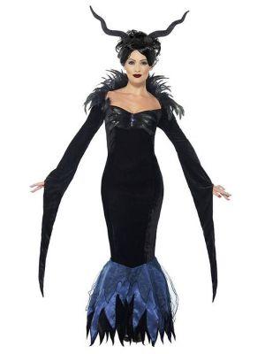 Lady Raven Costume  43724