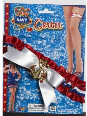 Lady in the Navy Garter 68246