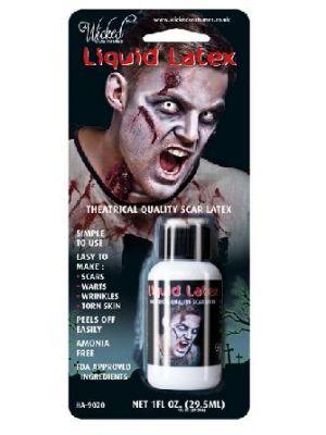 Liquid Latex 1oz Bottle Adhesive Basic HA-9020