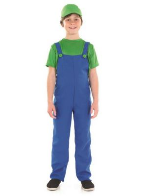 Little Plumber's Mate Green Costume  2986