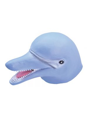 Dolphin Full Head Rubber Mask Fancy Dress JW Range