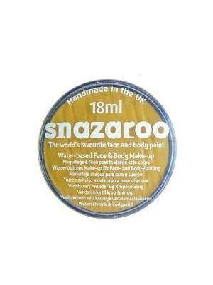 Metallic Gold Snazaroo 18ml Face Paint 1118777