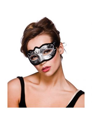 Silver Glitter Verona Eyemask MK-9810