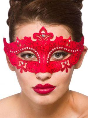 Red Demonte Eye Mask MK-9954