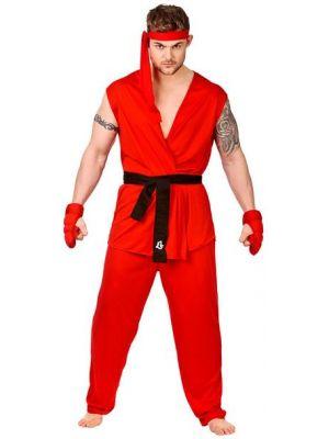 Martial Arts Fighter Costume  EM-3212