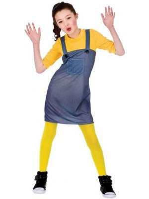 Mischievous Worker Girl Costume  EG-3585