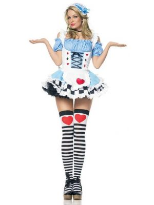 Miss Wonderland Costume  83354