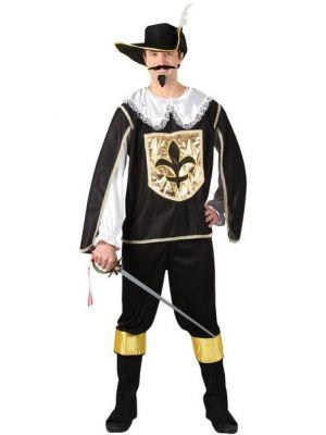 Musketeer Black Costume  EM-3161