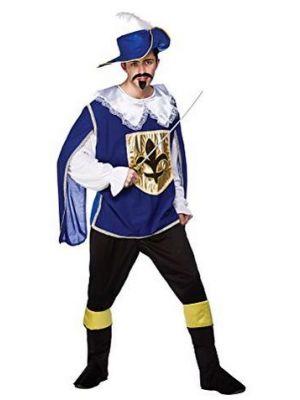 Musketeer Blue Costume  EM-3197