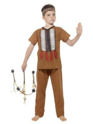 Native American Inspired Warrior Kid Costume  24664