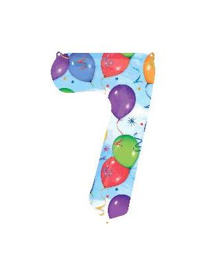 Number 7 Balloons Foil Balloon 28257