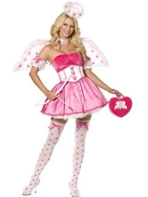 Pink Cupid Costume  34398