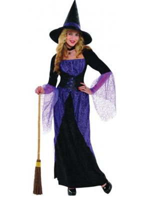 Pretty Potion Witch Halloween Costume 996222
