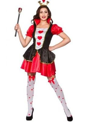 Queen of Hearts Costume  EF-2219