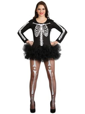 Sexy Skeleton Costume  HF-5075