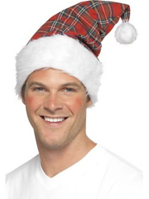 Tartan Santa Hat 24485