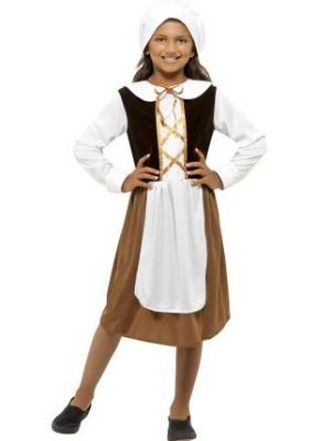Tudor Girl Costume  44015