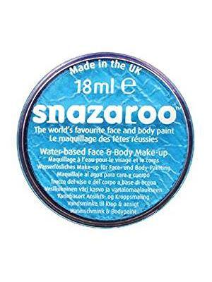 Turquoise Snazaroo 18ml  Face Paint 1118488