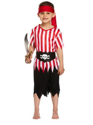 Pirate Boys Costume U37 697