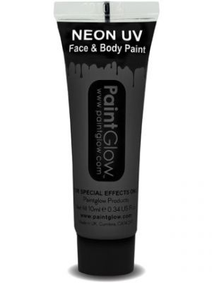 UV Face and Body Paint Black 45995