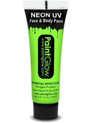 UV Face and Body Paint Green 45986