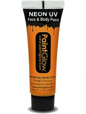UV Face and Body Paint Orange 45989
