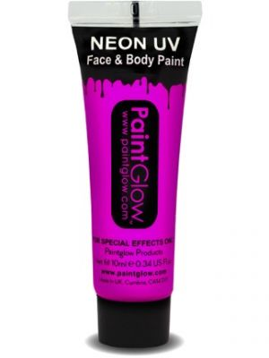 UV Face and Body Paint Pink 45988