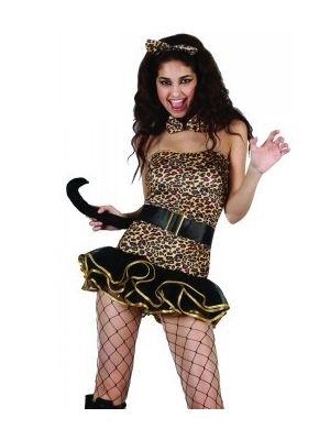 Luscious Leopard Costume SF-0100