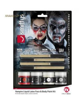 Vampire Liquid Latex Kit 46226