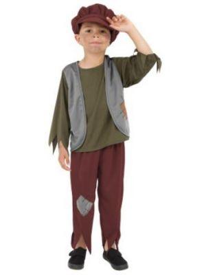 Victorian Poor Boy Costume  38660