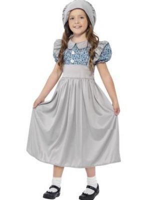 Victorian School Girl Costume  27532