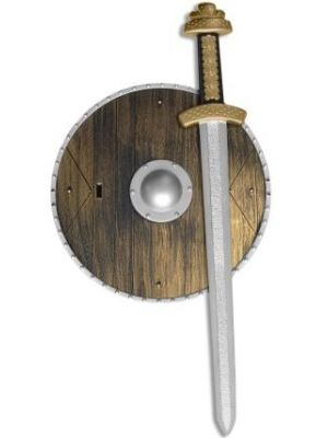 Weapons Set with Sword and Shield 34981