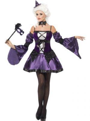 Witch Masquerade Costume  25436