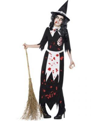 Zombie Authentic Salem Witch Costume  40058