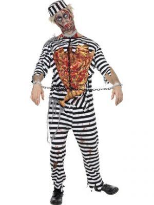 Zombie Convict Costume  31911