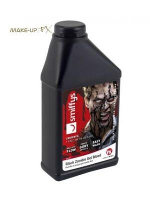 Zombie Gel Blood Bottle Black 473.17ml 44725