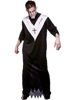 Zombie Priest Costume  HM-5527