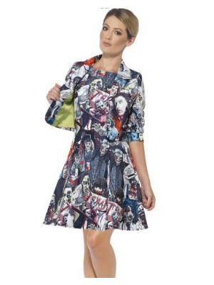 Smiffy's Zombie Woman Suit Fancy Dress 45635