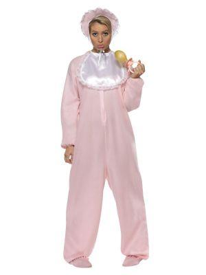 Baby Romper Costume Pink Smiffys 28601