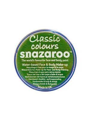 Bright Green Snazaroo 18ml Face Paint 1118444