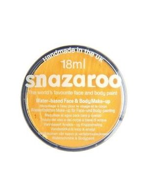 Bright Yellow Snazaroo 18ml Face Paint 1118222