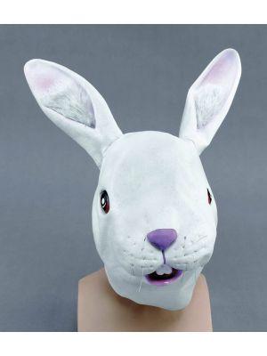Bunny Easter Mask Rubber JW Fancy Dress