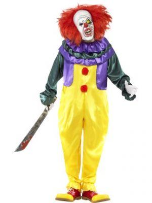 Classic Horror Clown Costume  24376