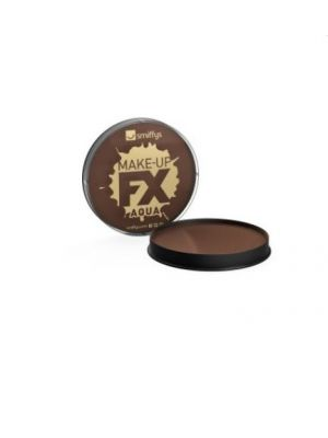 Smiffy's Make-up FX Dark Brown Face and Body 39184
